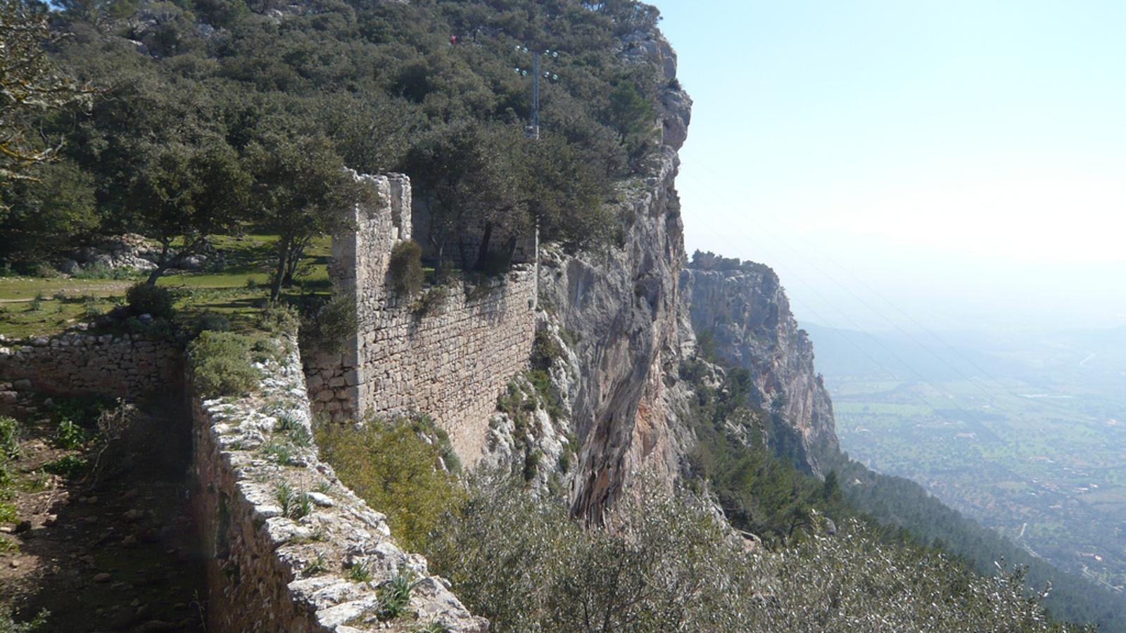 Imatge d'arxiu del Castell d'Alaró
