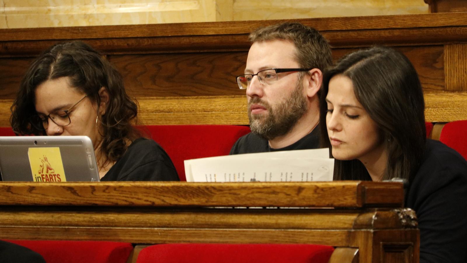 """La CUP forçarà els diputats d'ERC i JxCat a posicionar-se sobre el cessament de Buch i la """"violència policial"""""""