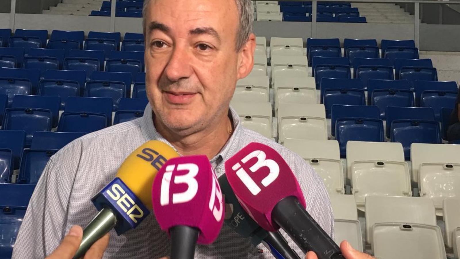 Guillem Boscana, president de l'Iberojet Palma Bàsquet