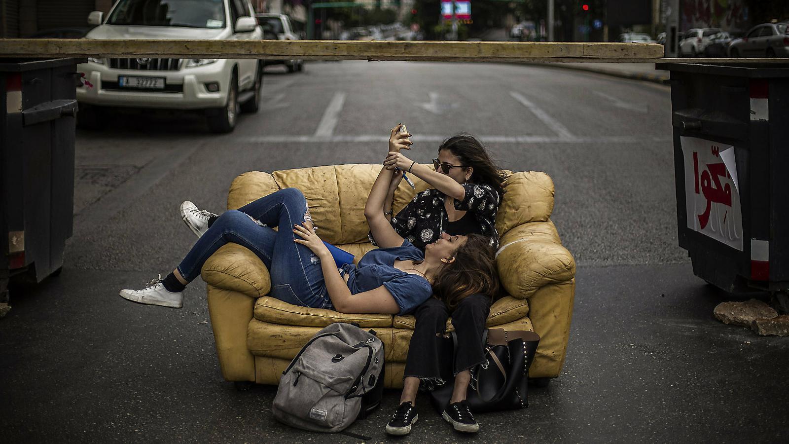 Les dones de la revolta libanesa