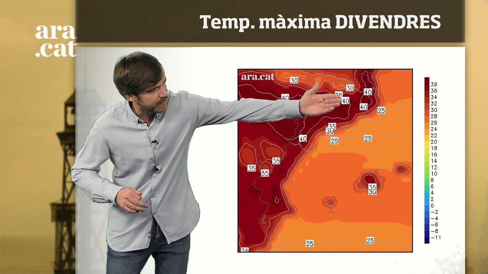 Méteo especial: temperatures extremes a la segona part de la setmana