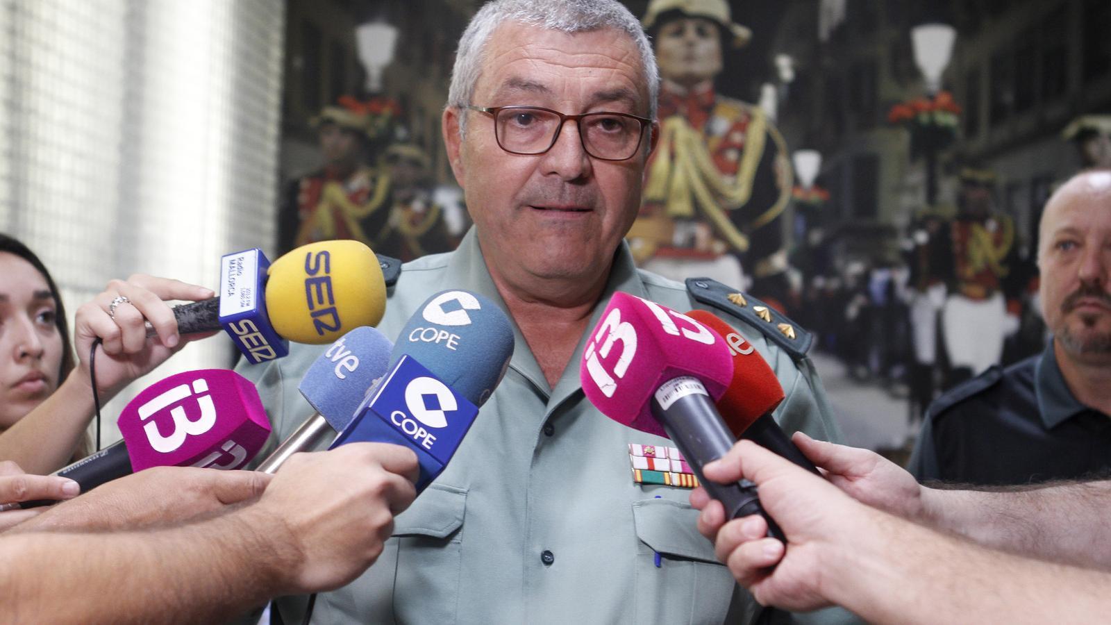 El coronell Barceló en una foto d'arxiu.