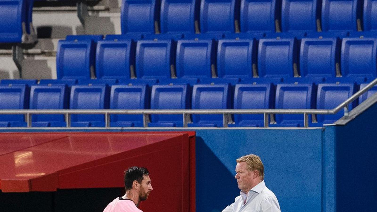Koeman felicita Messi pel seu partit contra el Girona