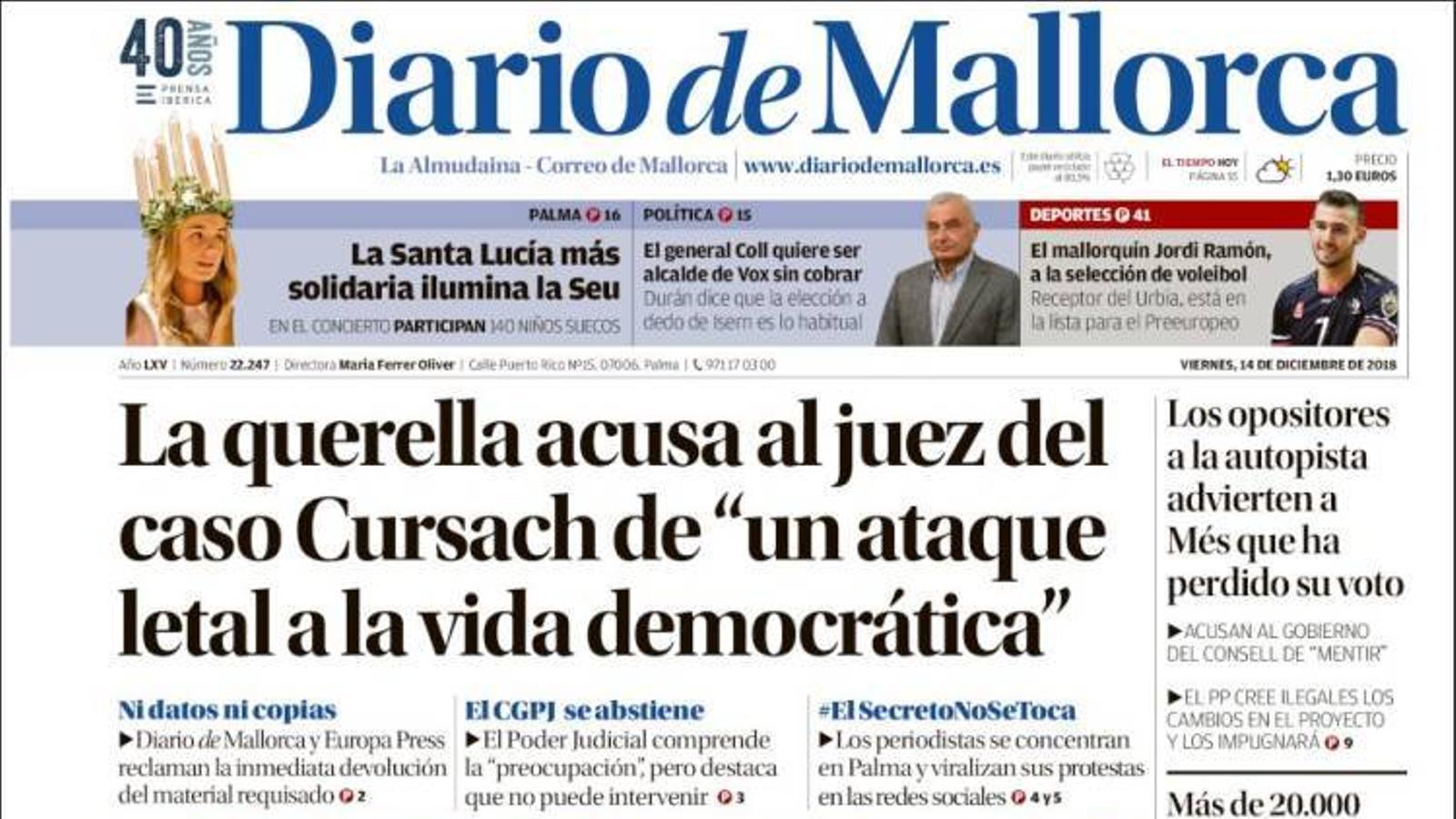 """""""Els radicals organitzen comandos per assaltar Barcelona"""", a la portada de l''Abc'"""