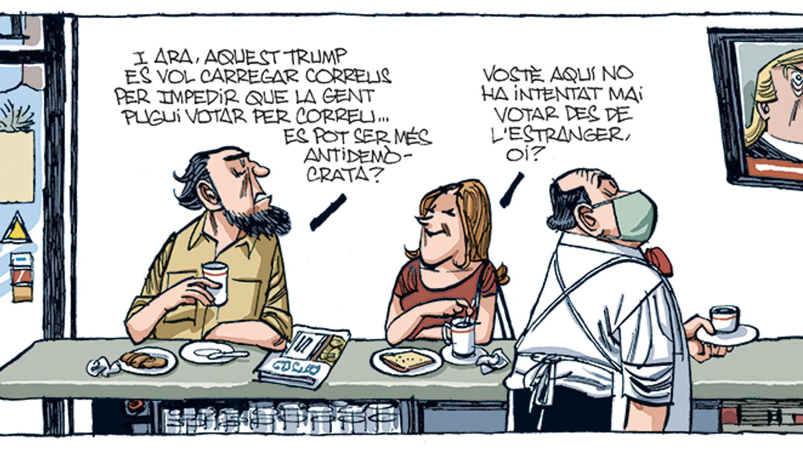 'A la contra', per Fontdevila 21/08/2020
