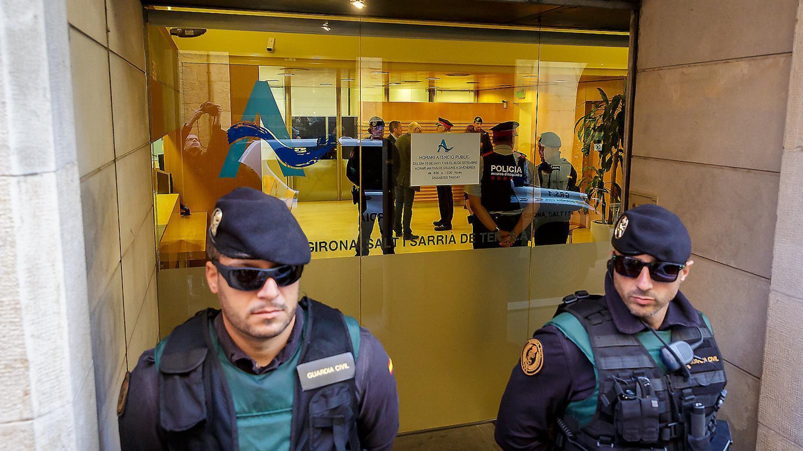 Escorcollen Aigües de Girona per un cas obert fa dos anys
