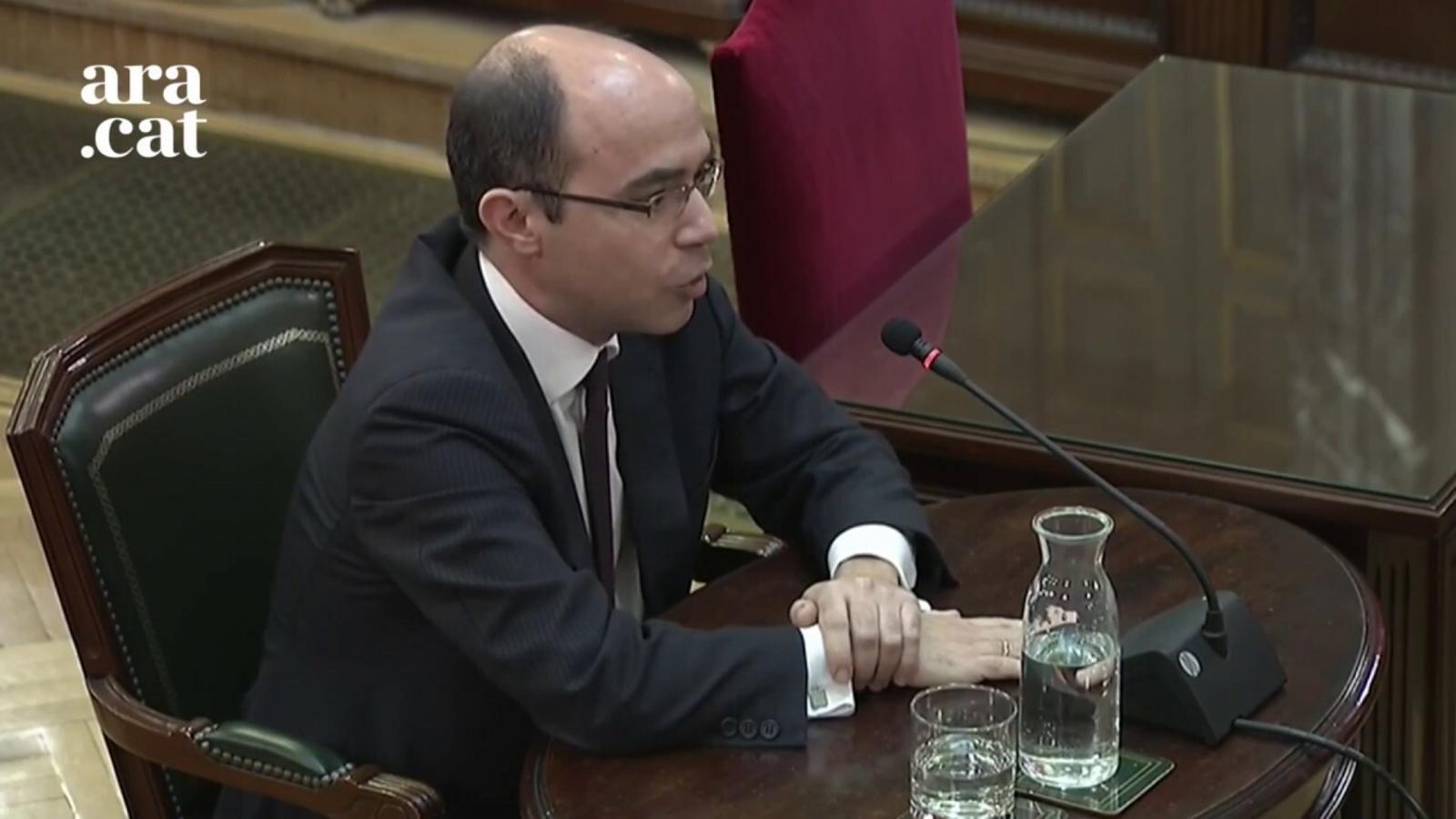 """Martínez assegura que el ministeri d'Hisenda va posar """"tots els elements"""" per supervisar que no es gastessin diners públics amb el referèndum"""