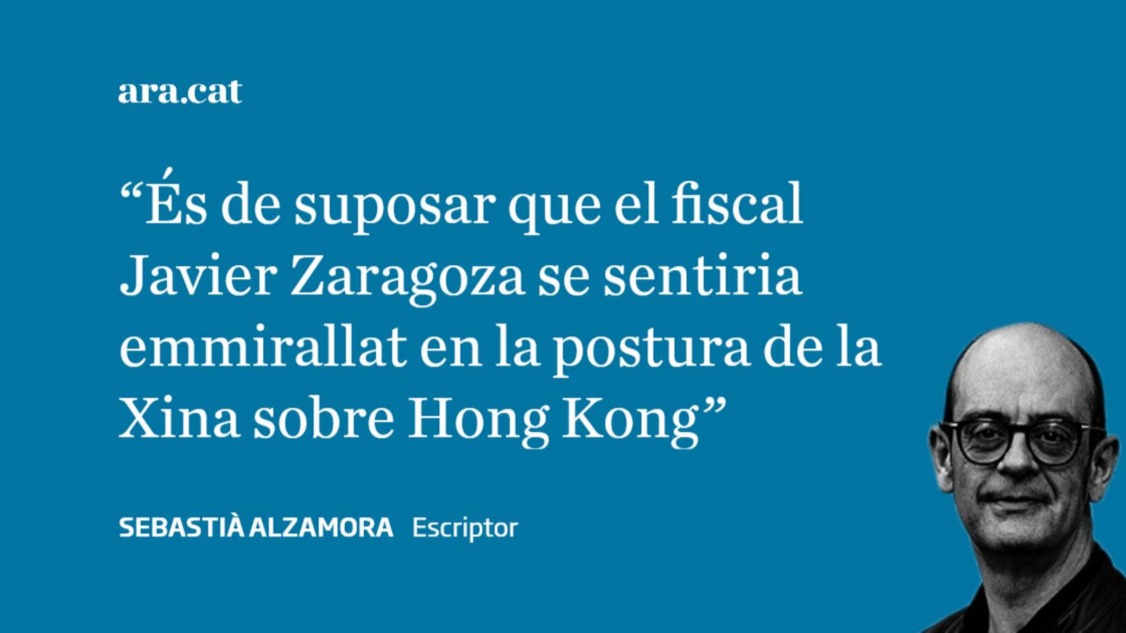 El fiscal Zaragoza a Hong Kong