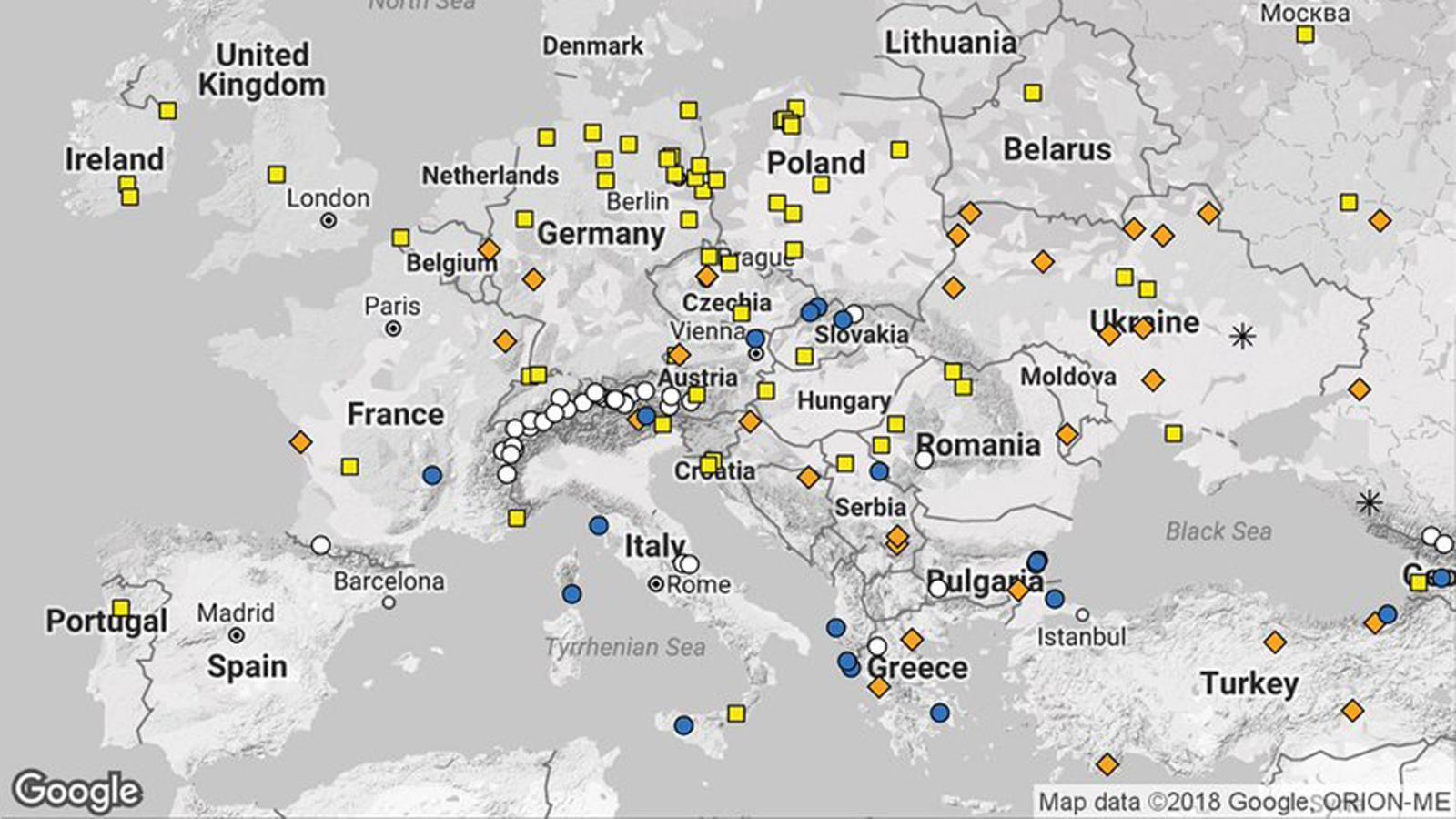 294 persones van perdre la vida el 2017 a causa d'algun fenomen de temps sever a Europa