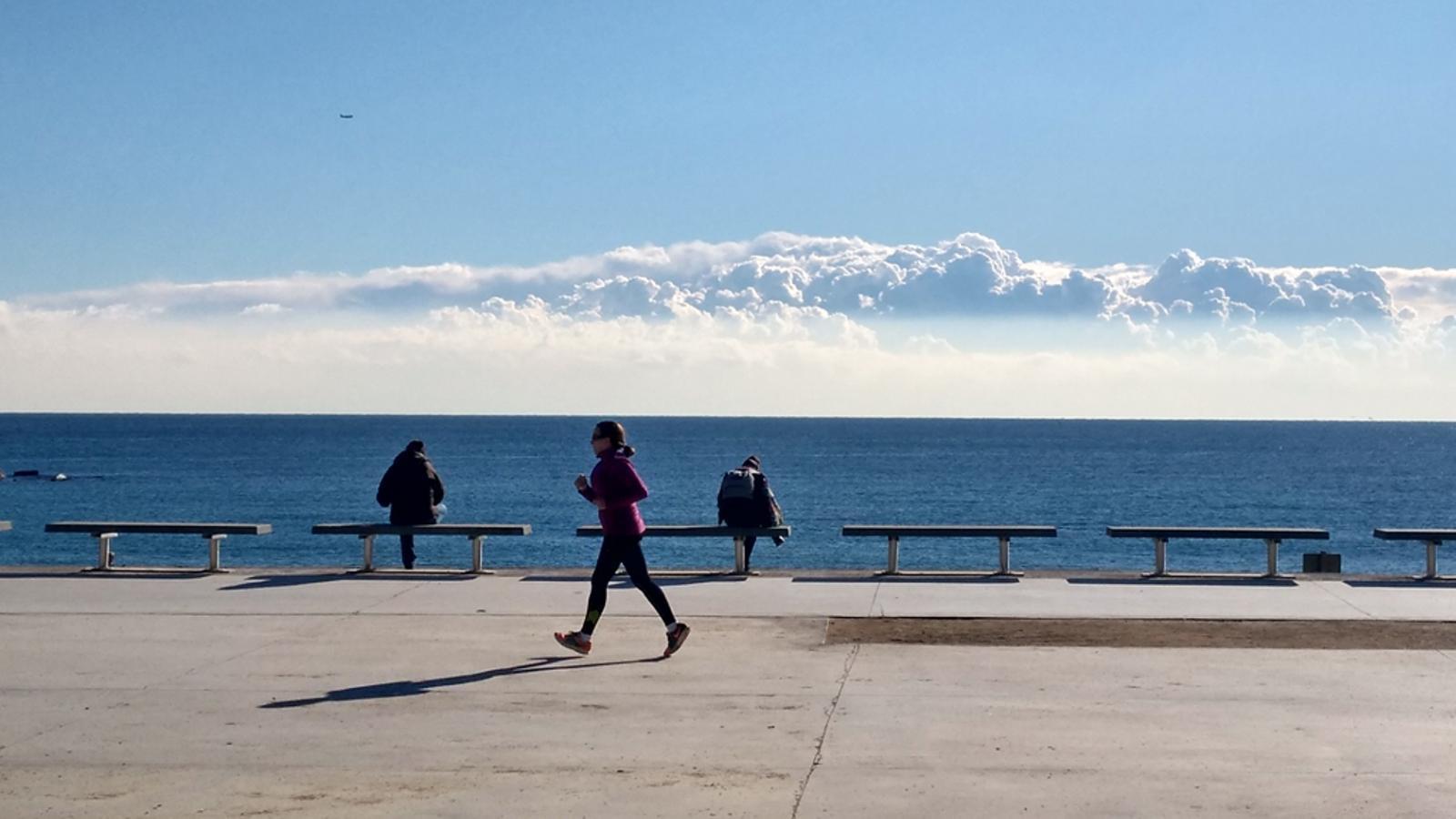 La temperatura de l'aigua del mar acaba l'any més freda del normal