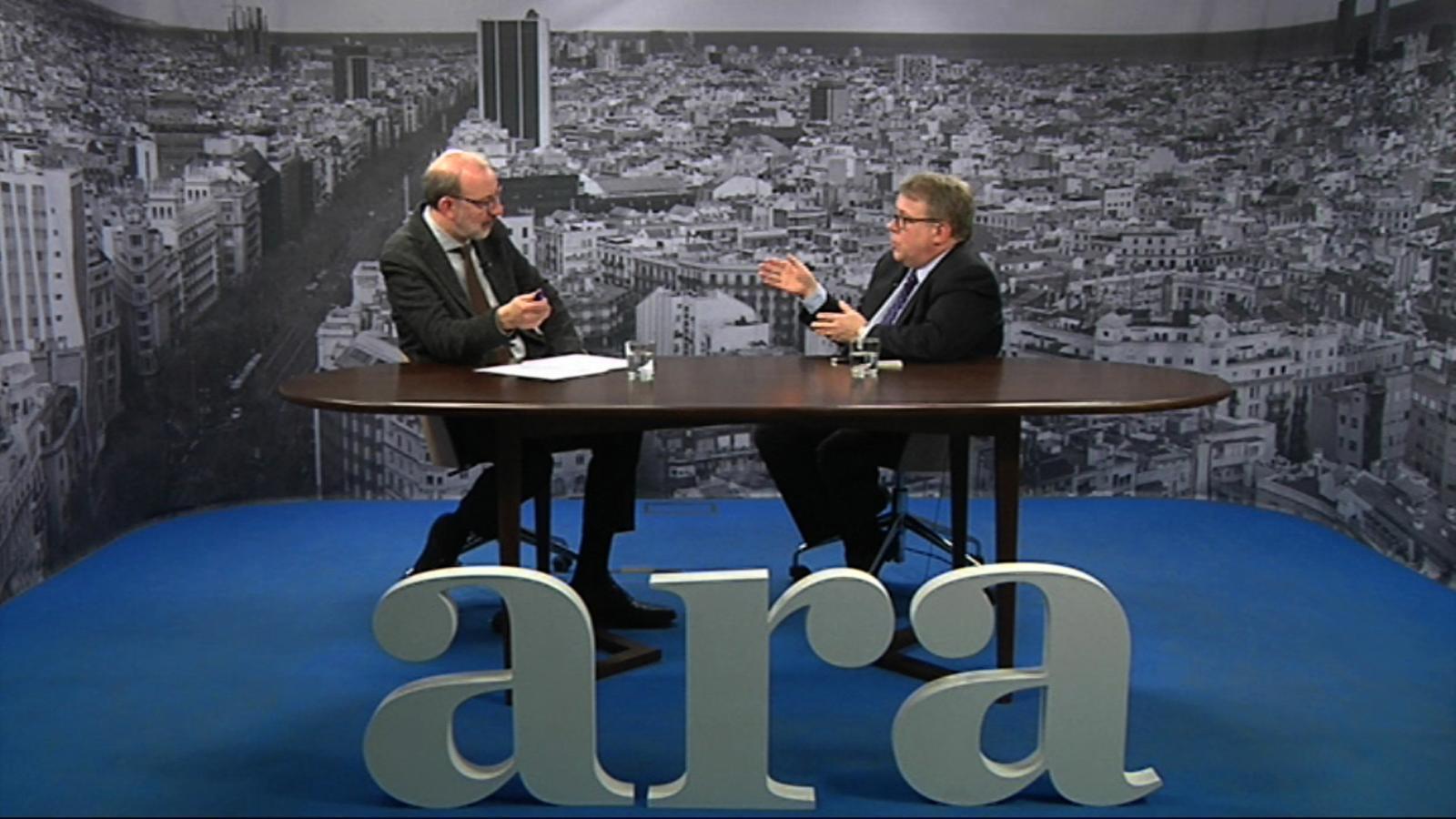 Entrevista d'Antoni Bassas a Jaume Padrós