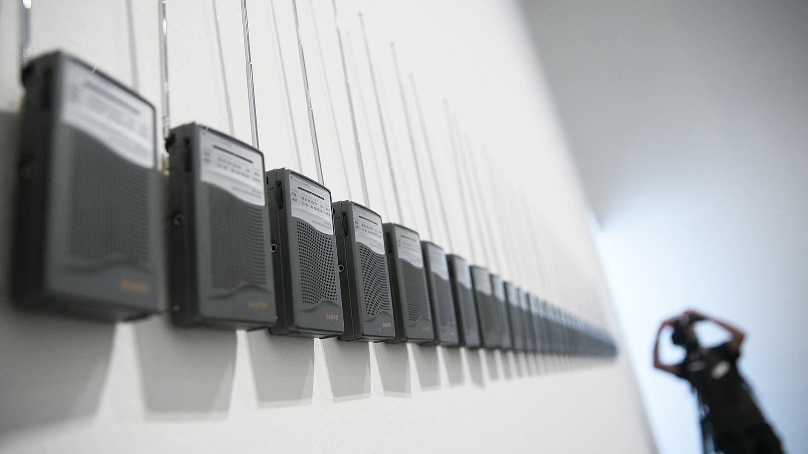 Inauguració exposició Acció al MACBA