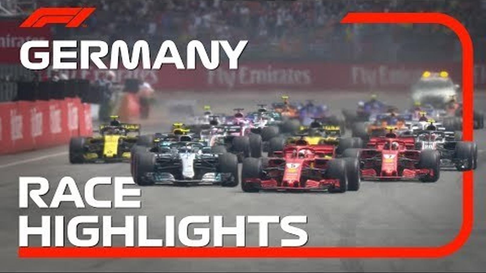 El resum del GP d'Alemanya de F1