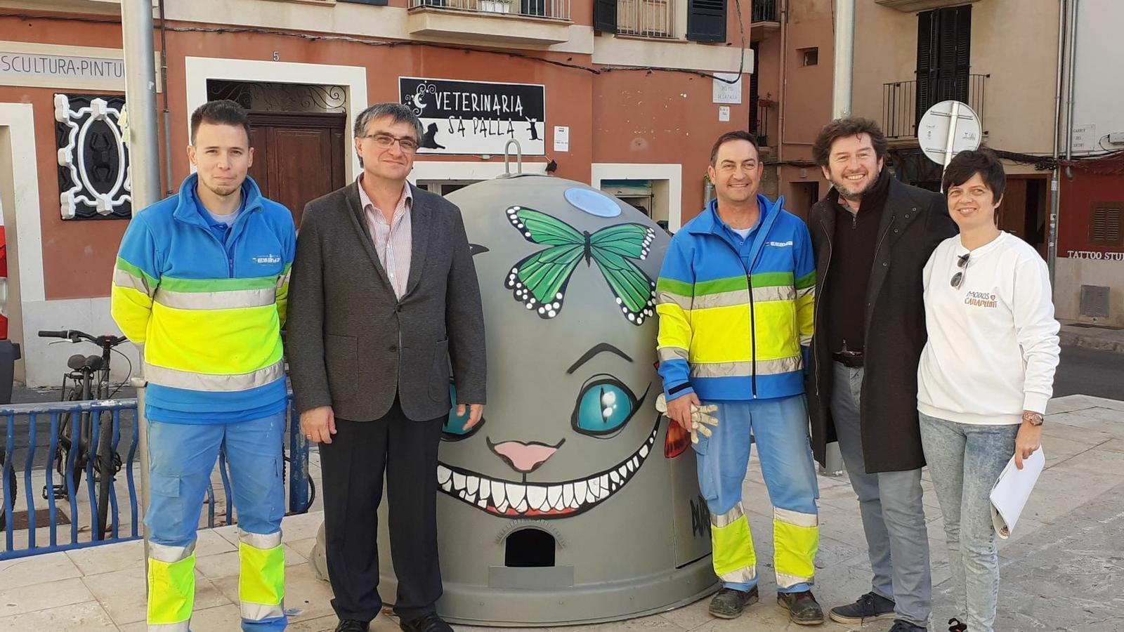L'Ajuntament de Palma instal·la set refugis per a colònies urbanes de moixos