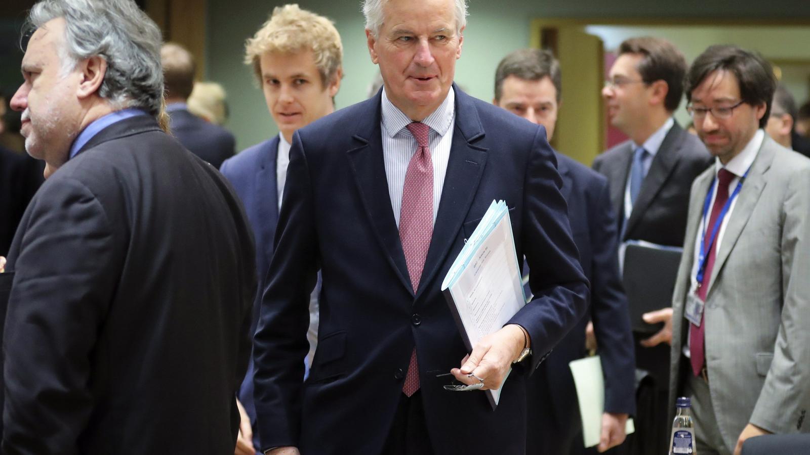El responsable de les negociacions de la Comissió Europea amb el Brexit, Michel Barnier.