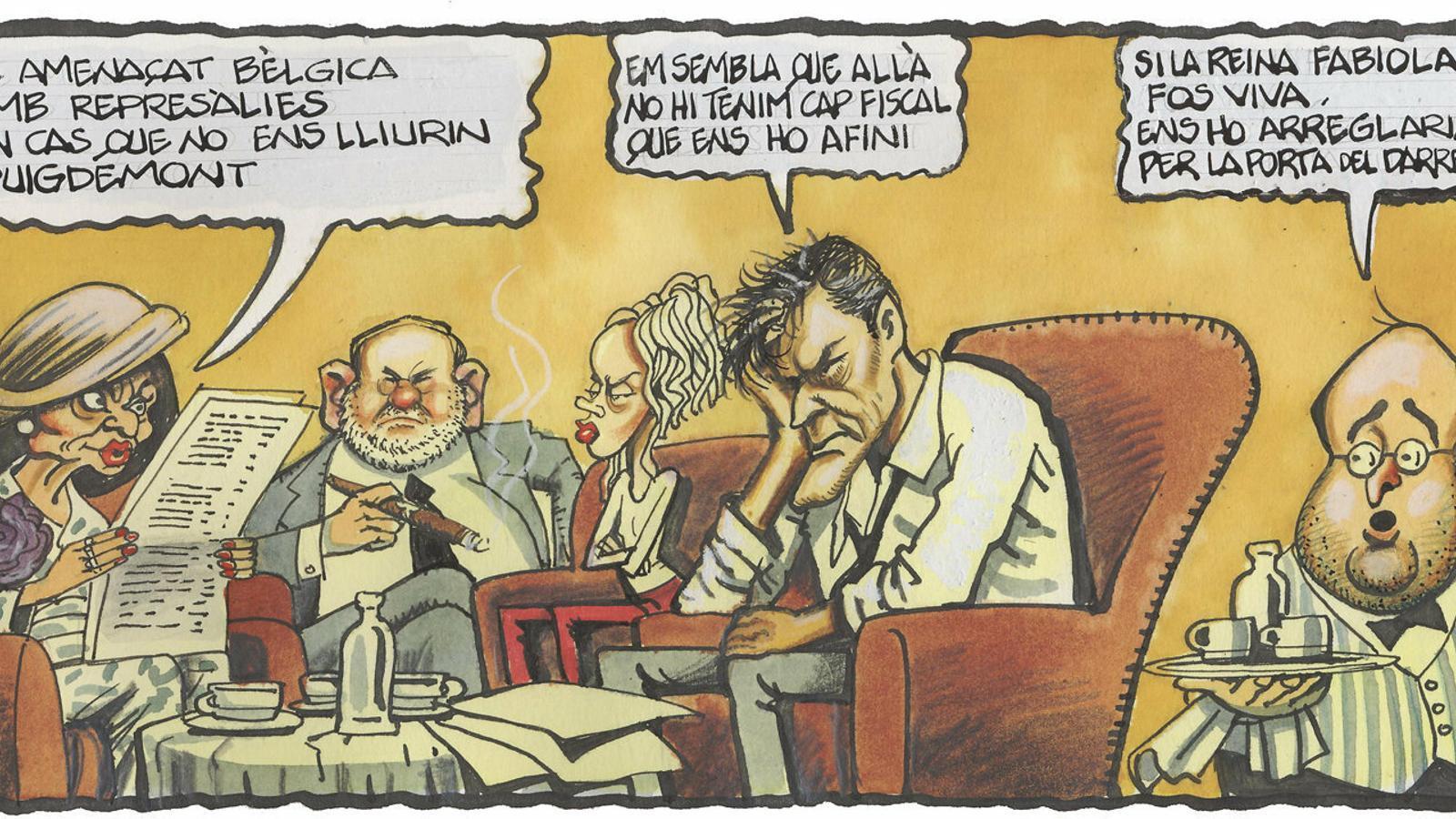 'A la contra', per Ferreres 31/10/2019