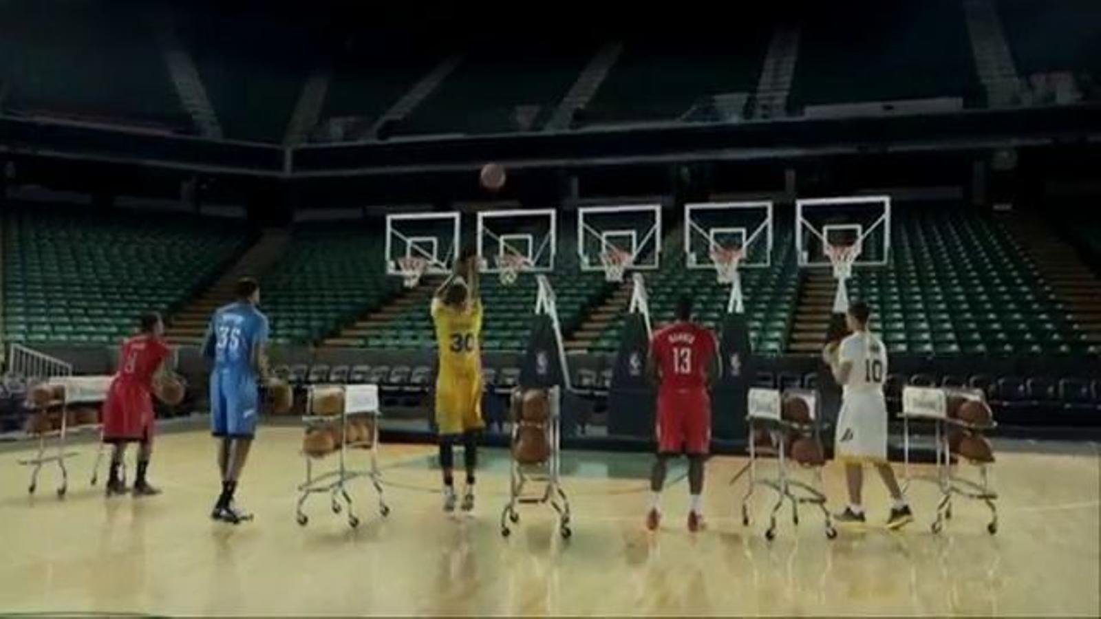 'Jingle Hoops', el nou anunci de la NBA