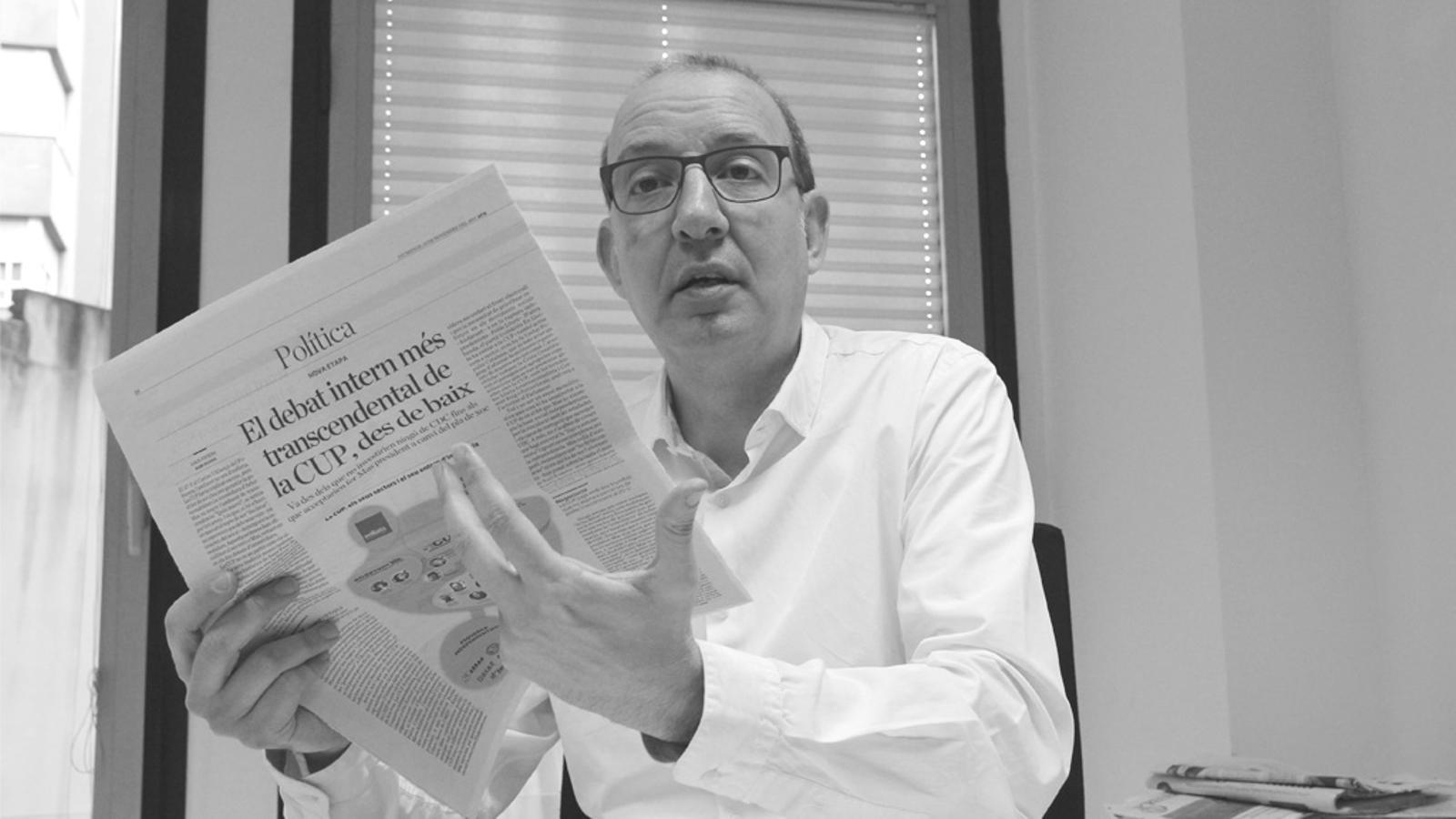 L'editorial d'Antoni Bassas: Sense por al compromís