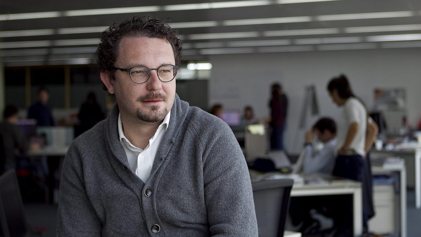 Aleix Valls, segon director de la Mobile World Capital que deixa el càrrec