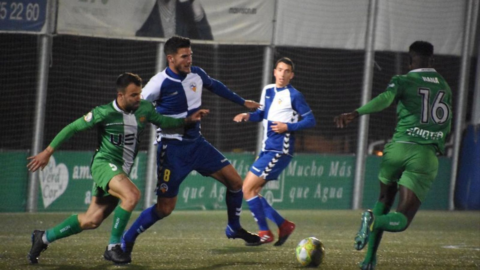 Un partit entre el Cornellà i el Sabadell