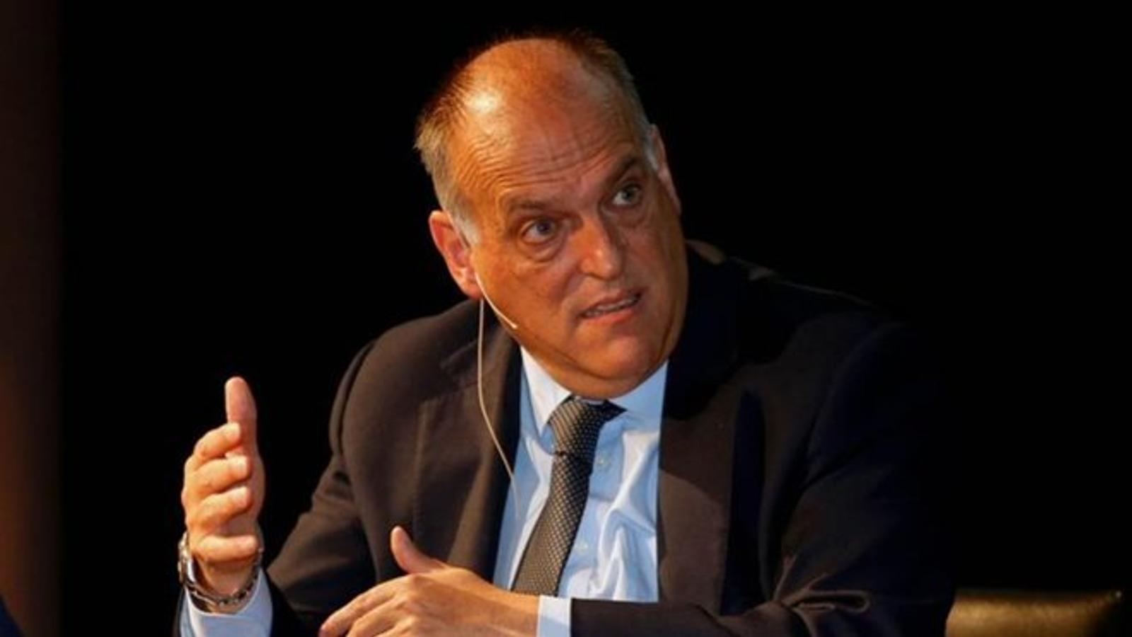 Javier Tebas assegura que el VAR ha de ser millorat / EFE