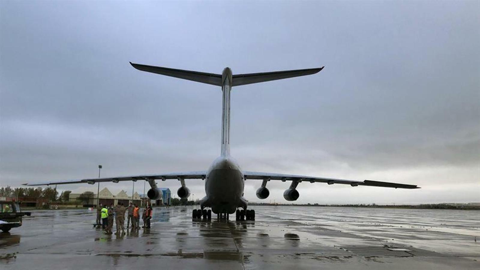 Un avió militar ha portat material mèdic des de Turquia a Espanya, amb la coordinació de l'OTAN