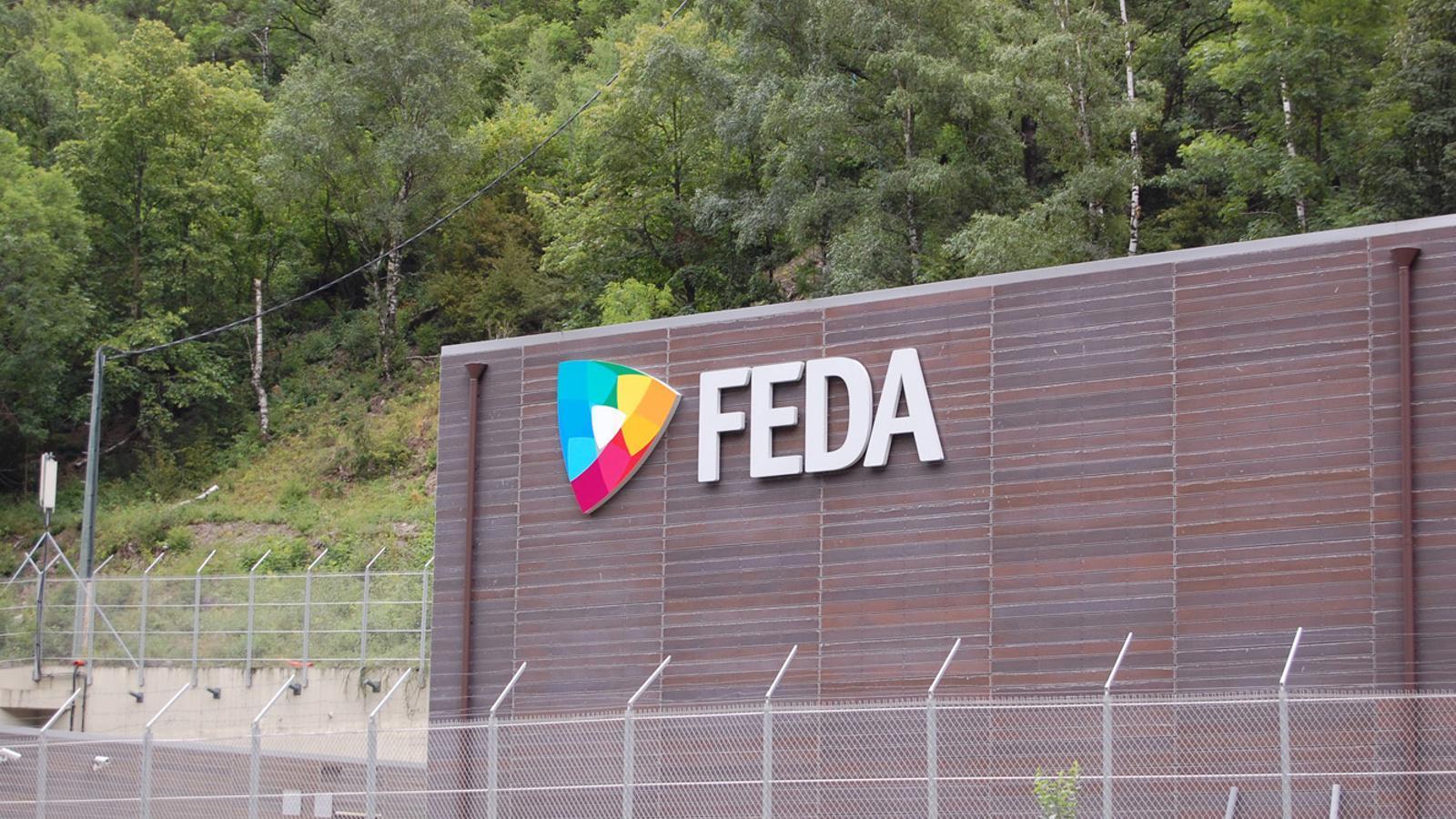 La central de FEDA. / ARXIU ANA