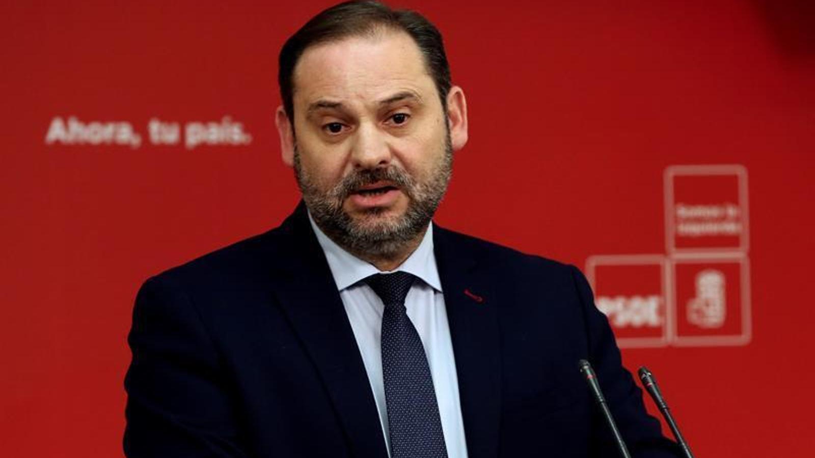 """Ábalos recorda a Cs i PP que la Constitució """"no es redueix al 155"""""""