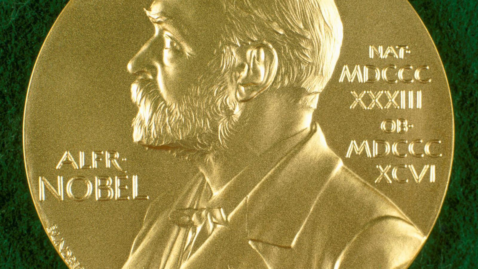 La medalla del premi Nobel