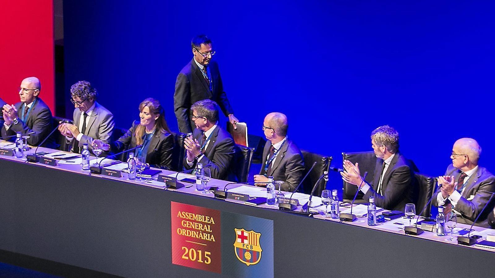 El Barça presumeix d'ingressos