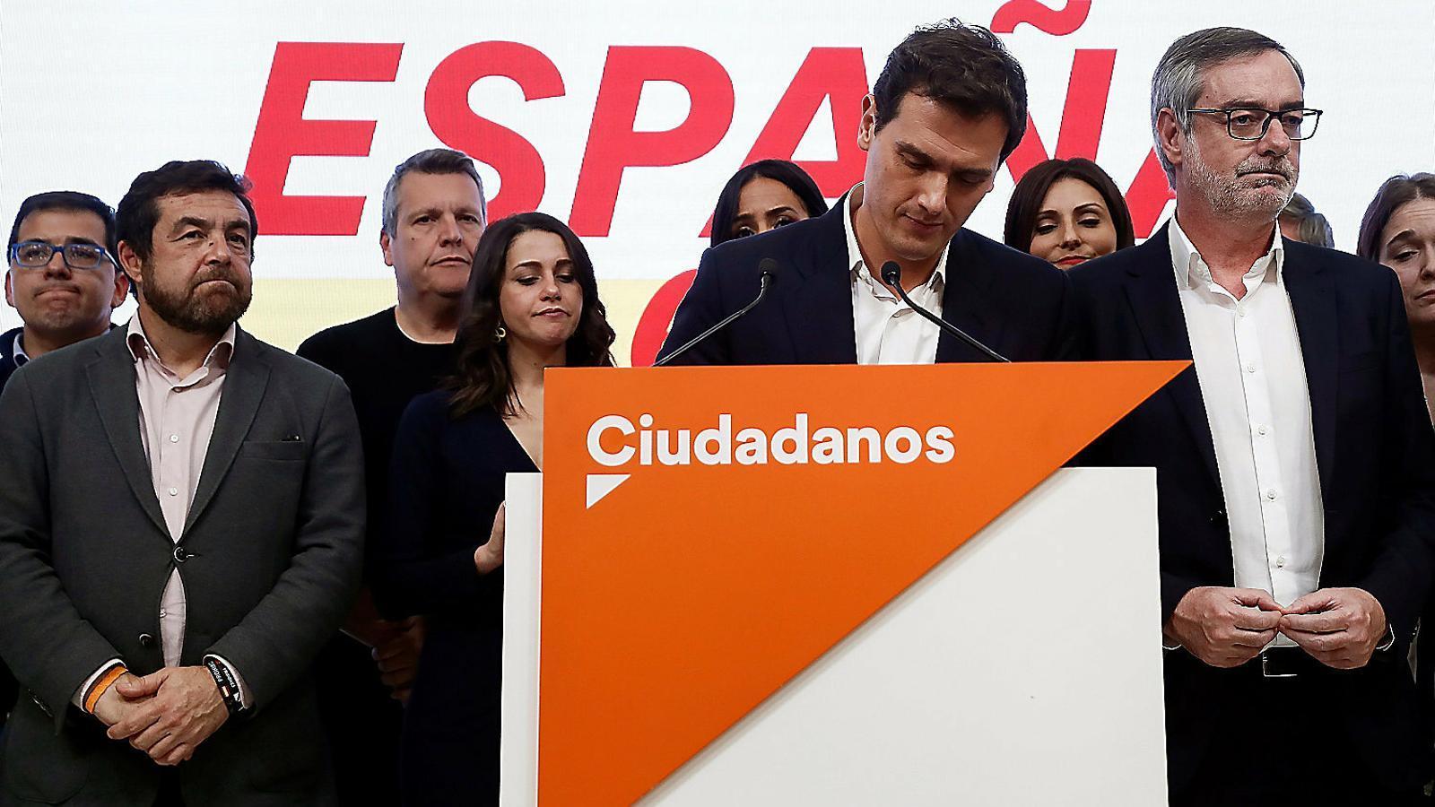 El camí de Ciutadans fins al fons de l'arc parlamentari