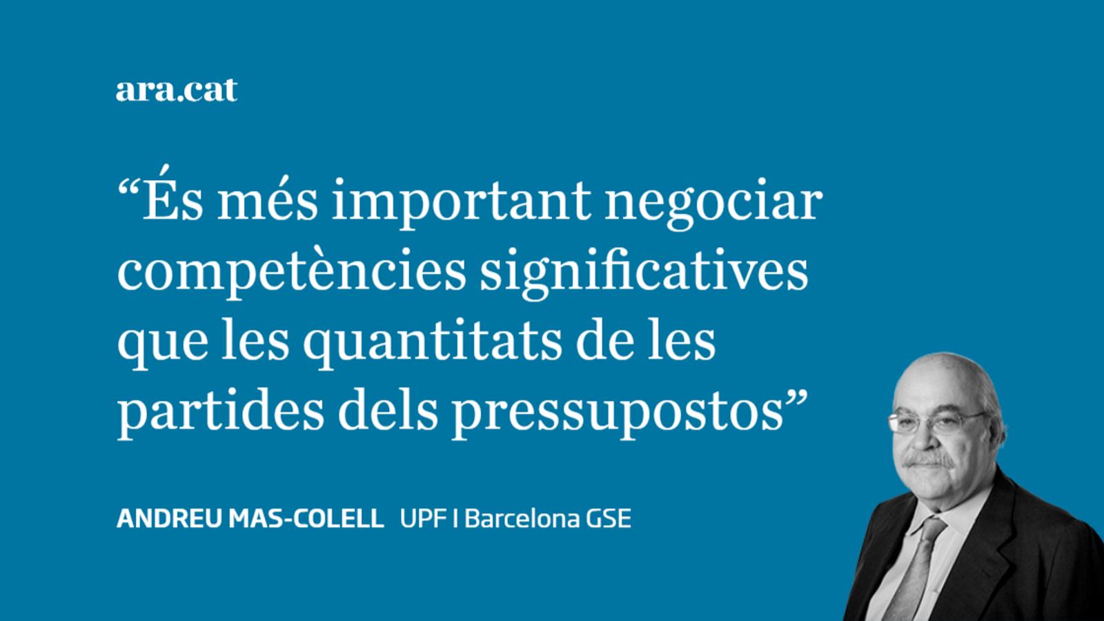 Cinc temes per a la negociació competencial