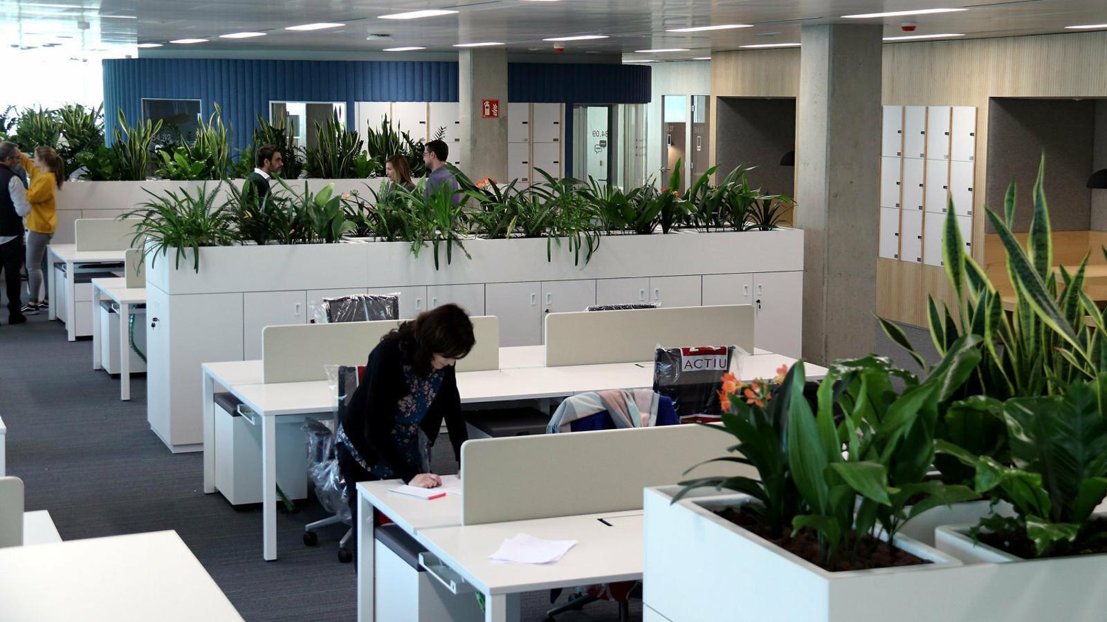 Les instal·lacions de la Generalitat a la Zona Franca