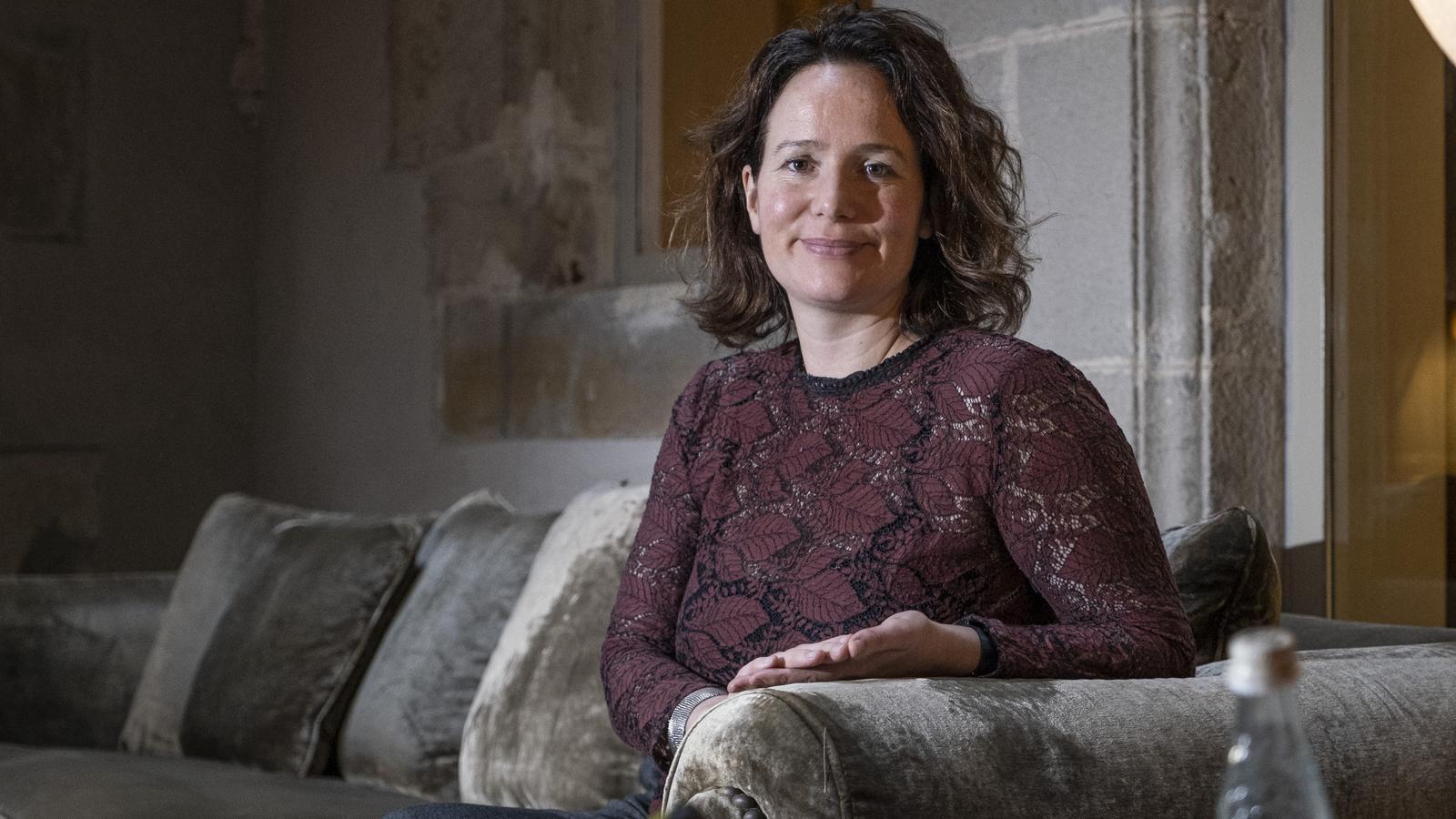 La secretària general de Housting Europe Sorcha Edwards