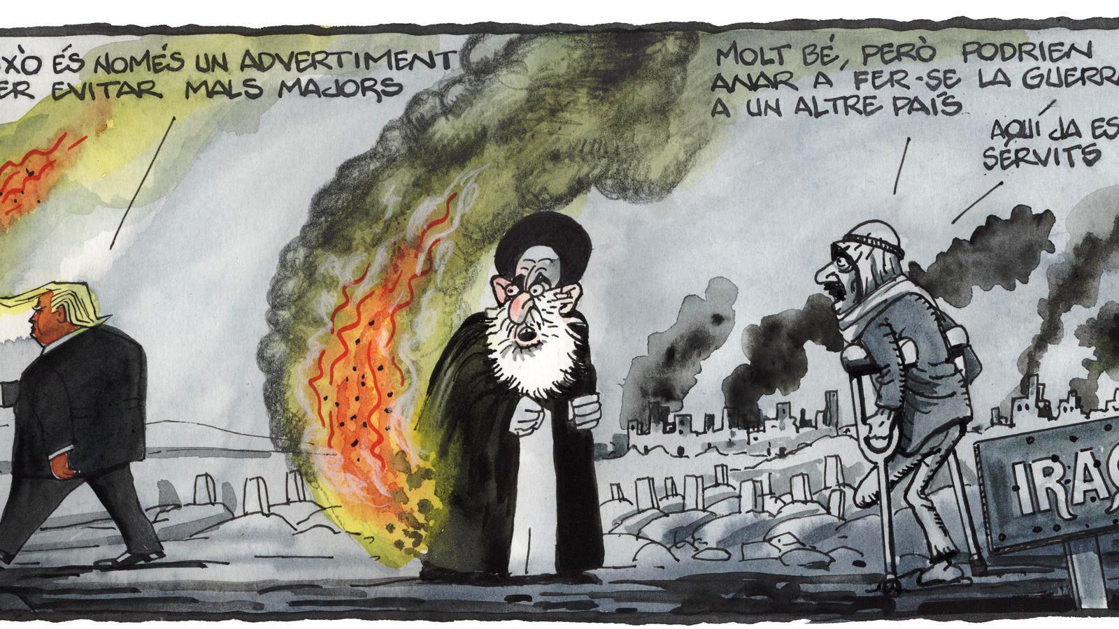 'A la contra', per Ferreres 11/01/2020