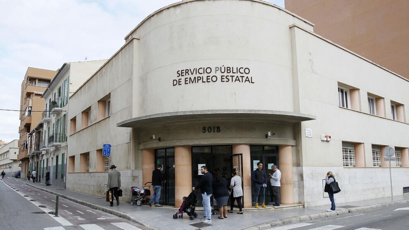 Oficina del SOIB a Palma