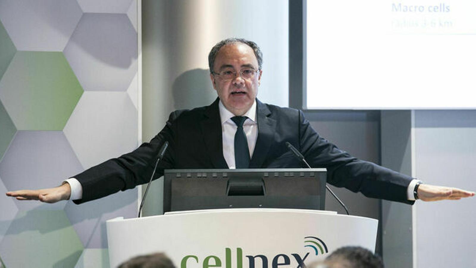 Cellnex tanca el primer semestre amb un 11% més d'ingressos