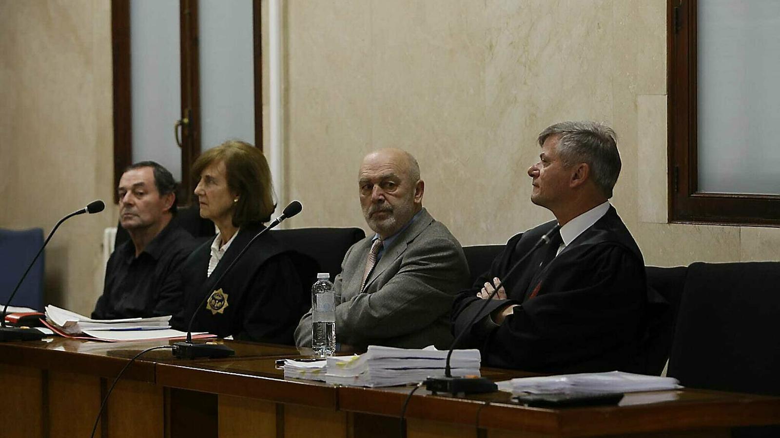 Miquel Florit durant el judici.