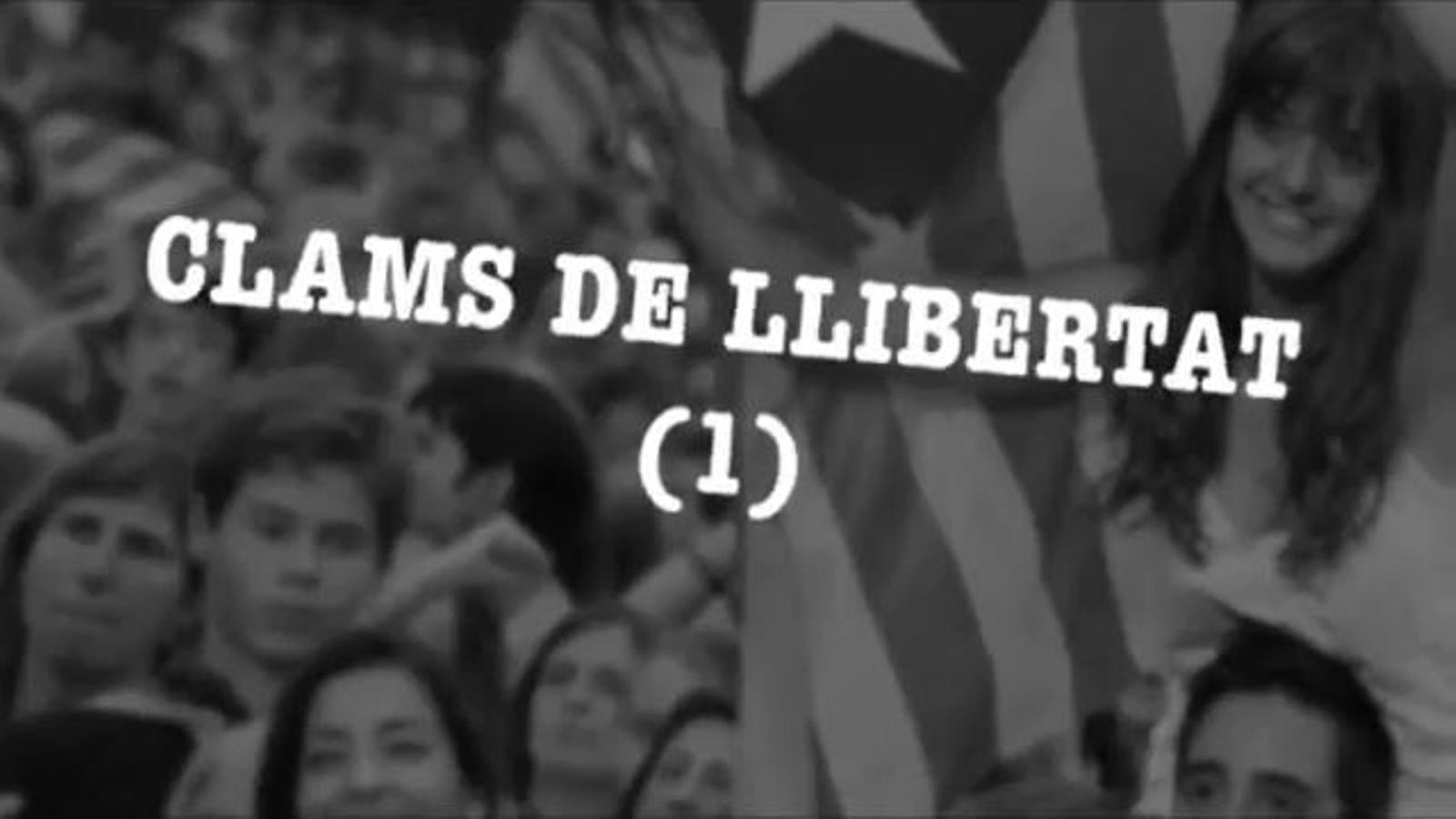 Com sonaria Clams de llibertat: Què vol aquesta tropa?, la proposta de cant per a la manifestació de la Diada