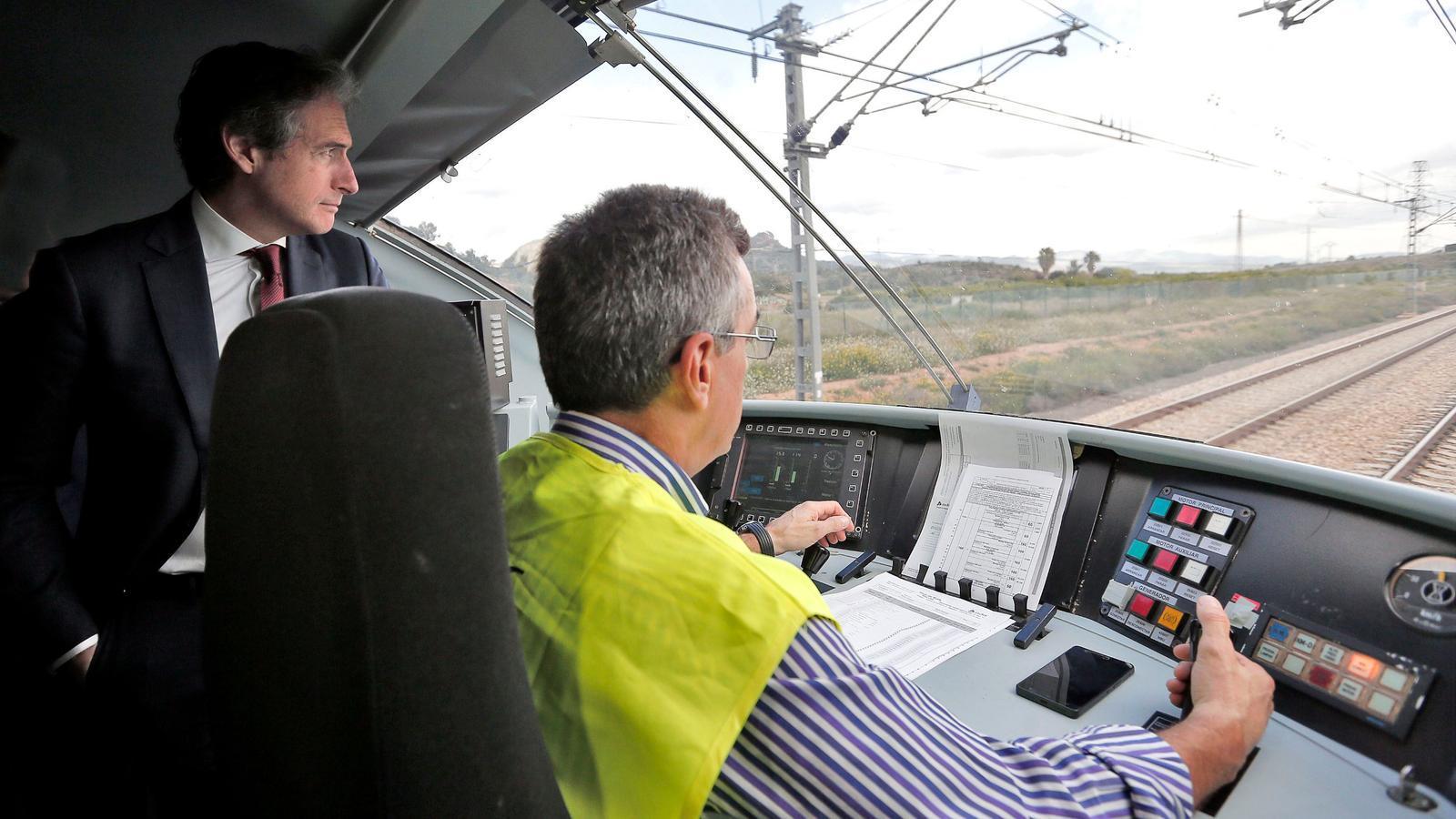 L'AVE Castelló-Madrid començarà el servei comercial el 23 de gener