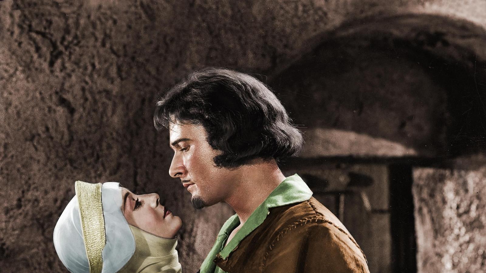 Olivia de Havilland i Errol Flynn a 'Robin Hood'