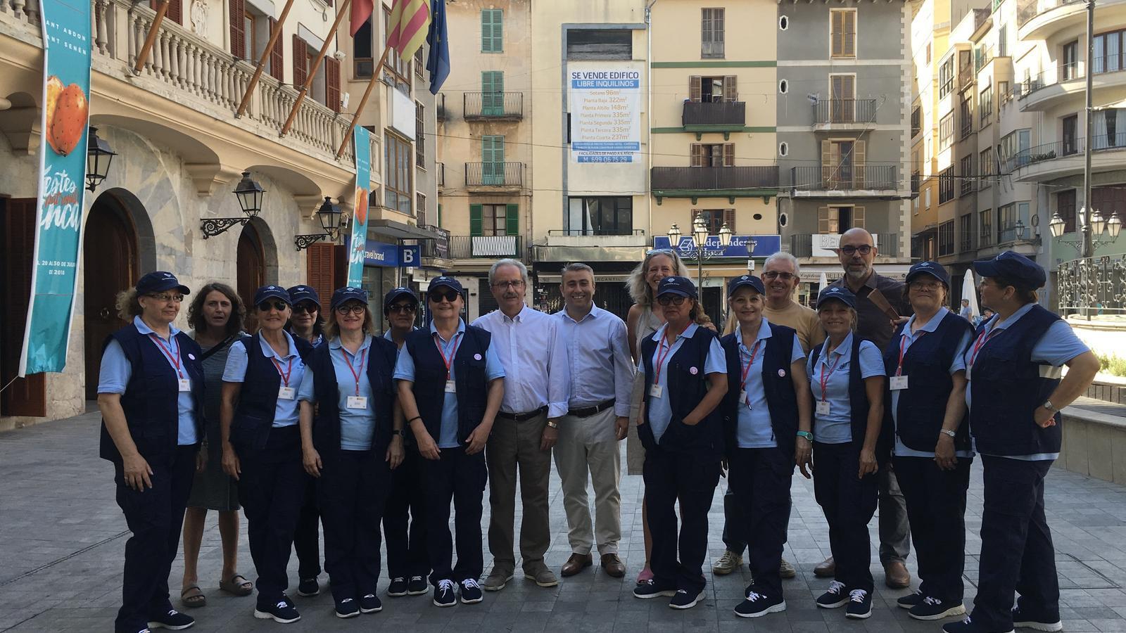 Presentada la nova patrulla femenina a Inca per unes conductes més cíviques