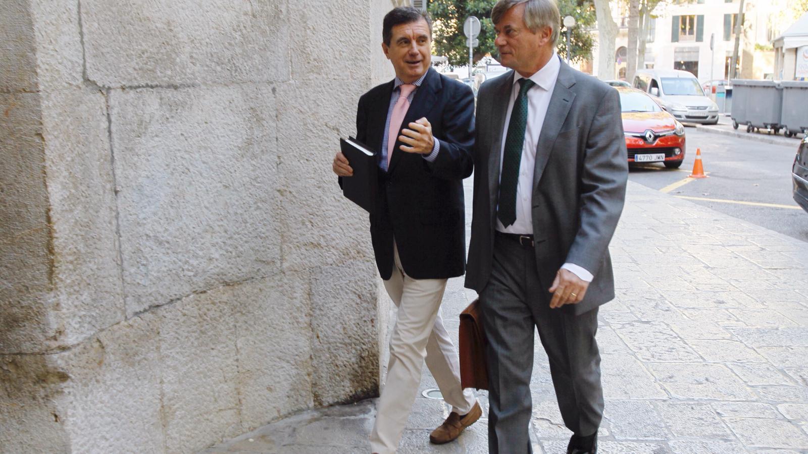 Jaume Matas en una imatge d'arxiu del judici del cas Palma Arena