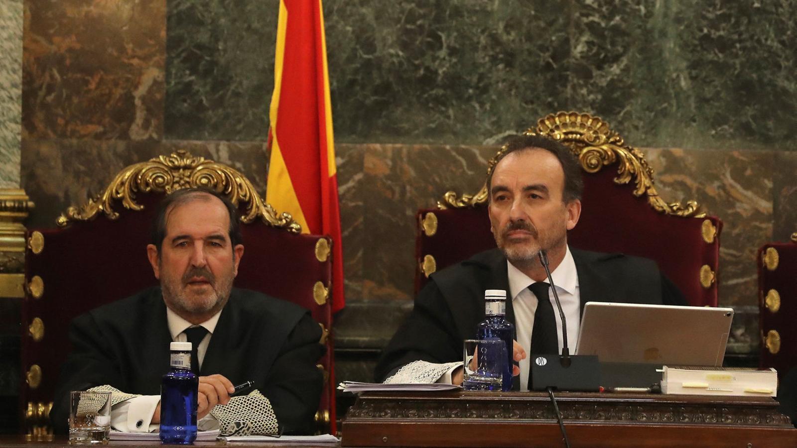 Manuel Marchena, president del tribunal que jutjarà els dirigents independentistes.