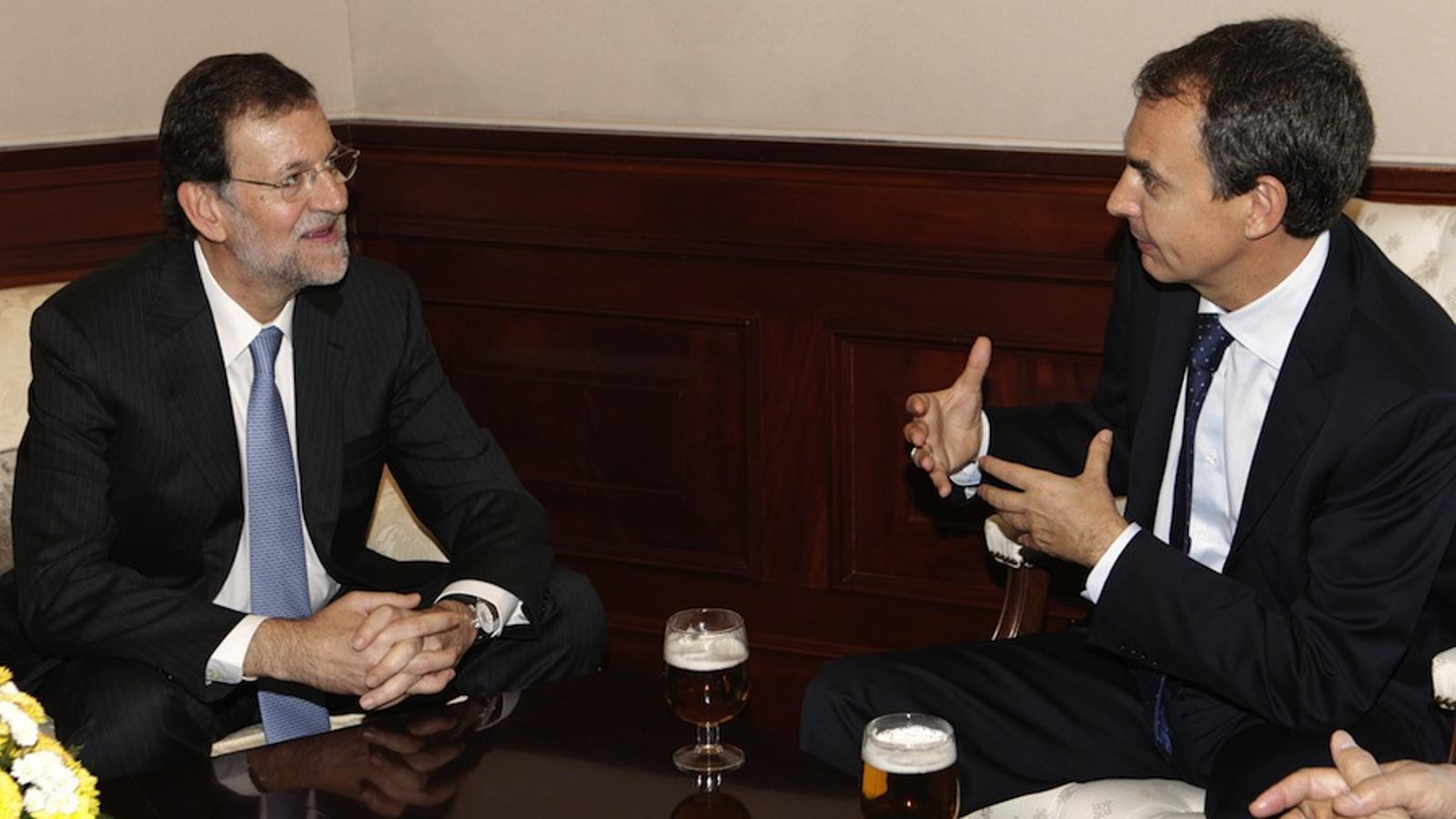 Zapatero i Rajoy