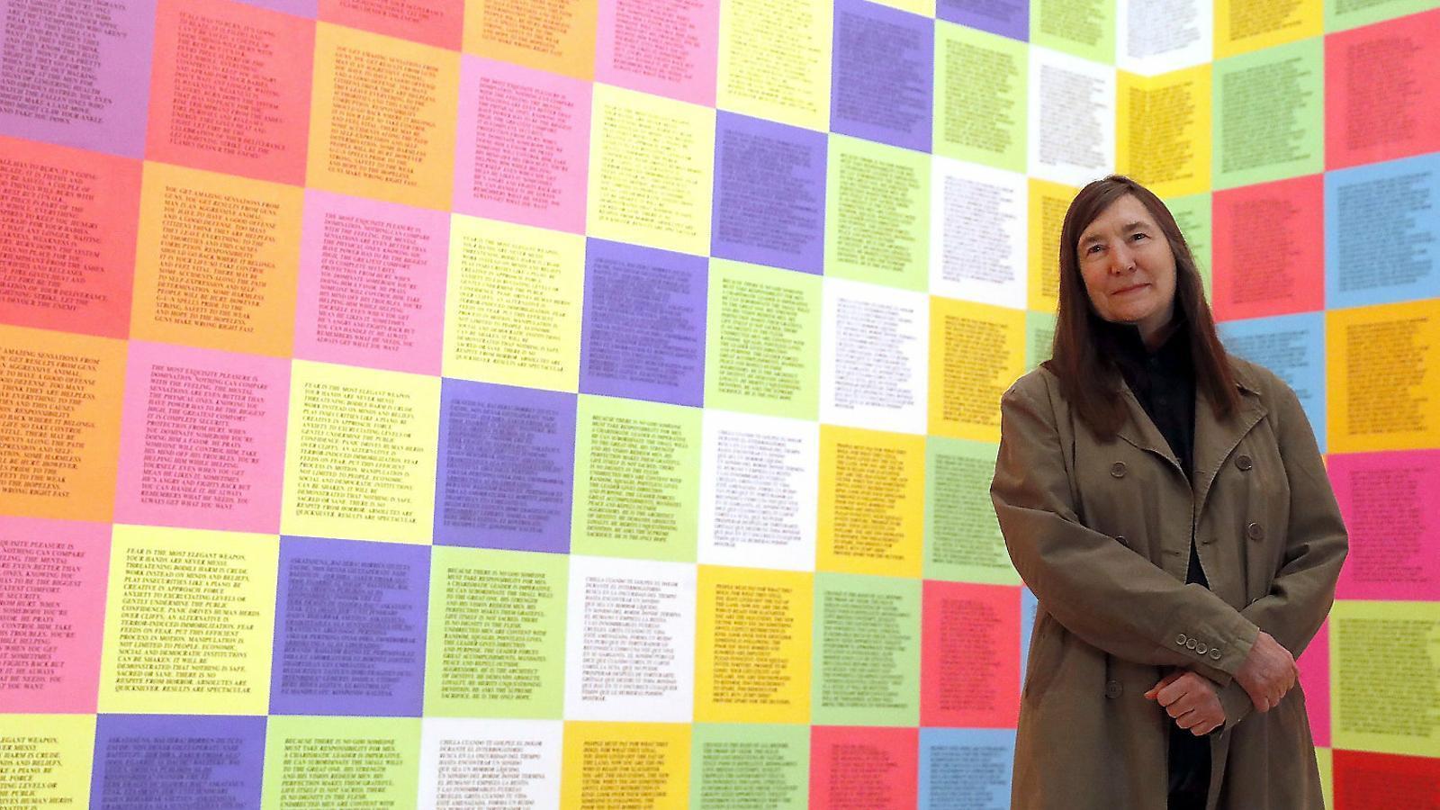 El Guggenheim fa d'altaveu de l'art de denúncia de Jenny Holzer