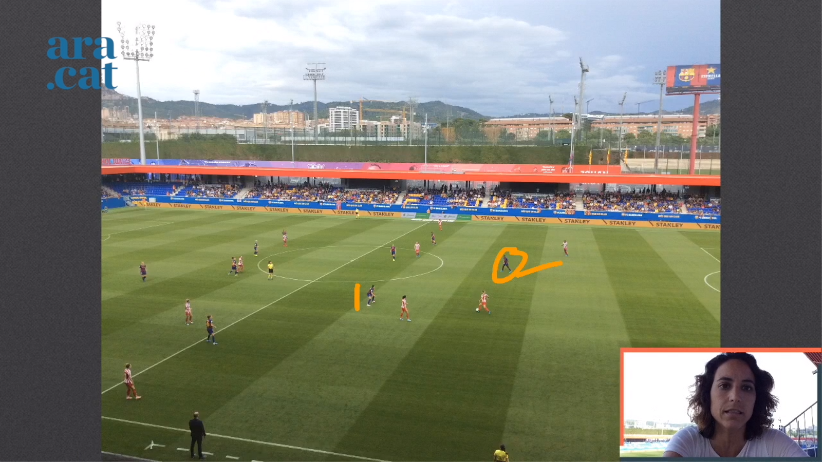 L'anàlisi en vídeo del Barça 6-1 Atlètic de la Primera Iberdrola
