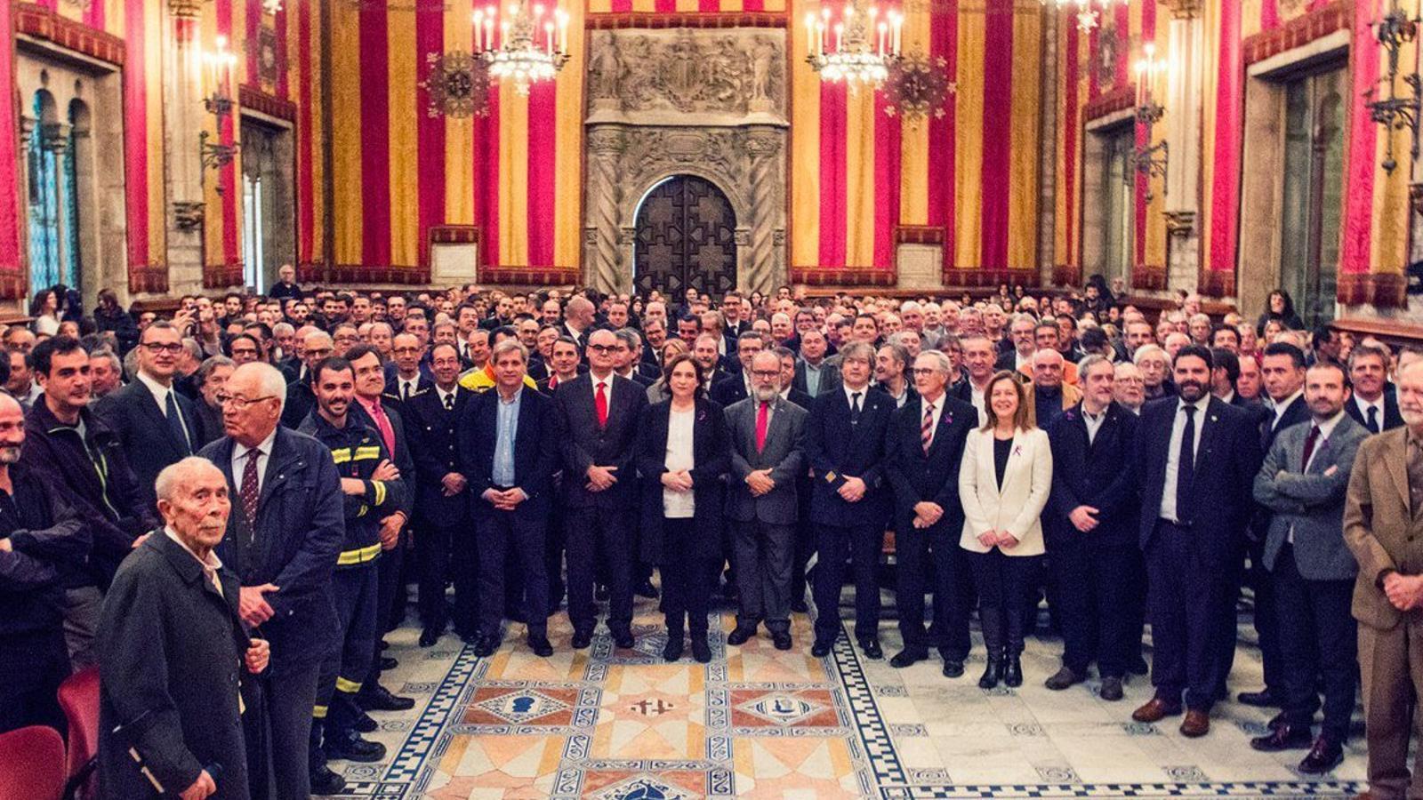 Ni una sola dona a la nova promoció de Bombers de Barcelona