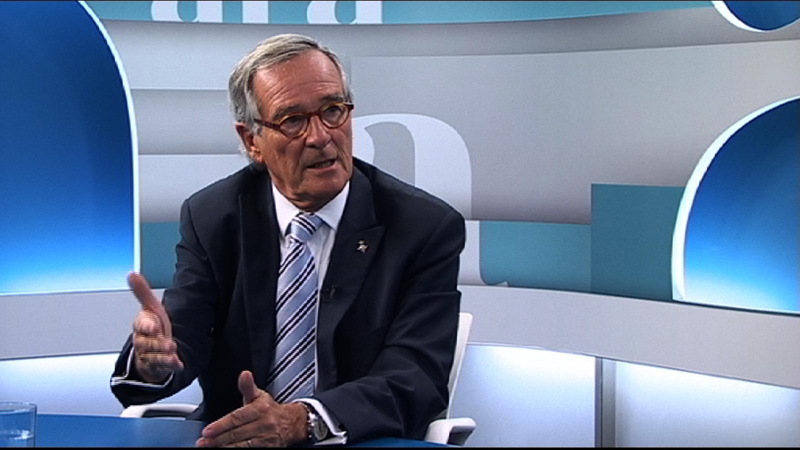 Xavier Trias a Antoni Bassas: Hem d'anar a votar el dret a decidir de totes totes