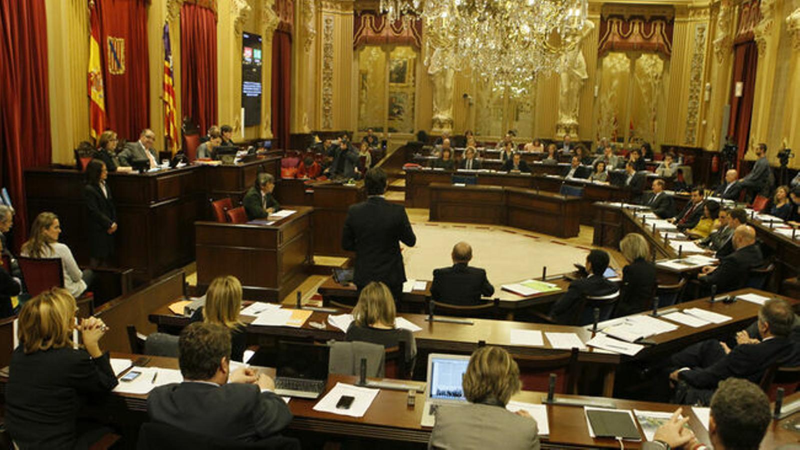El Parlament de les Illes Balears. / ISAAC BUJ